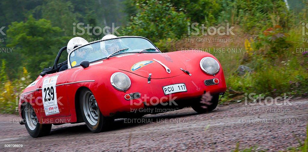 Porsche Seedmaster 356A from 1956 stock photo