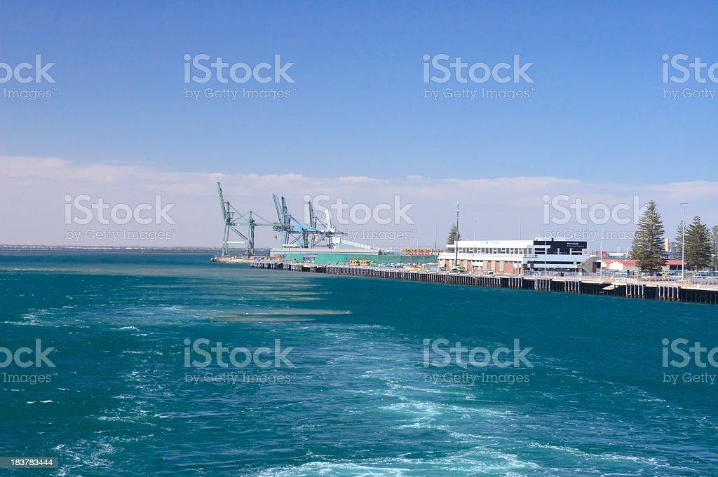 Port Adelaide Sailaway stock photo
