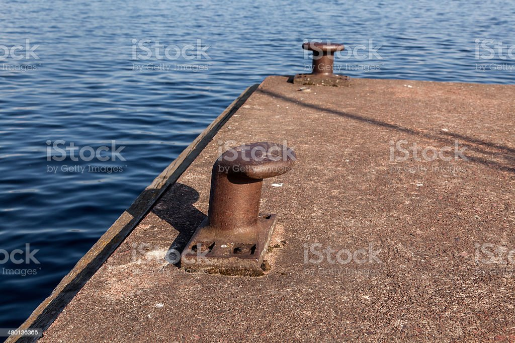 Port and mooring royalty-free stock photo