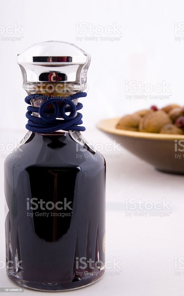 Port and Nuts stock photo
