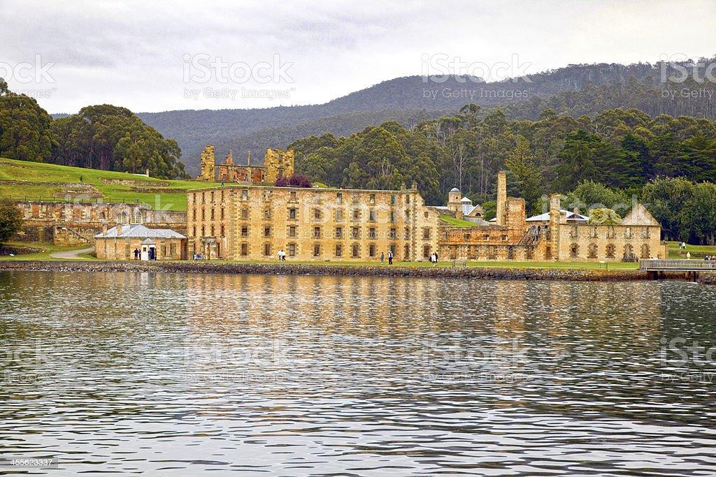Port Arthur Historic Convict Site, Tasmania. royalty-free stock photo