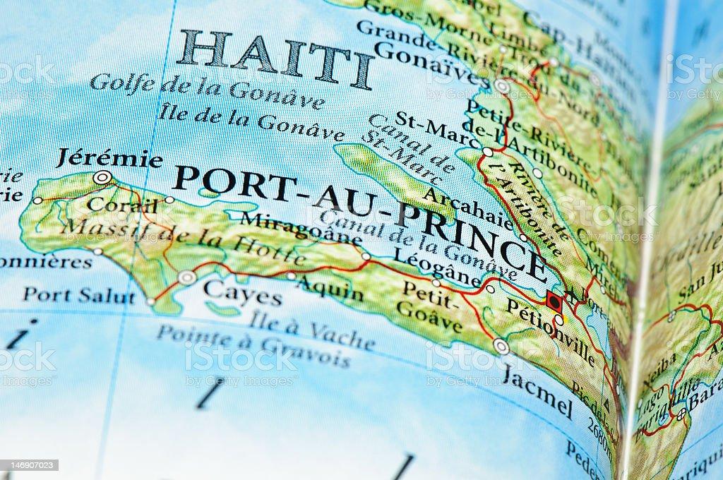 Port Au Prince - Haiti royalty-free stock photo