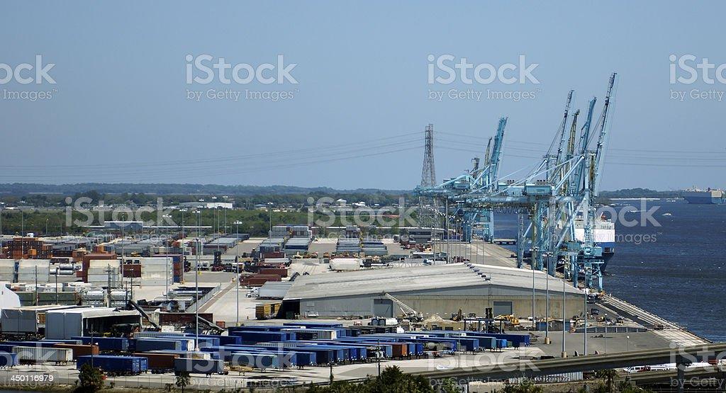 port authority royalty-free stock photo