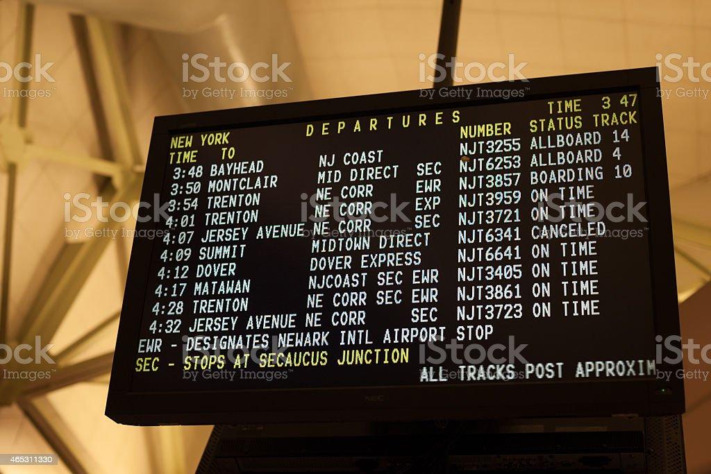 Port Authority stock photo