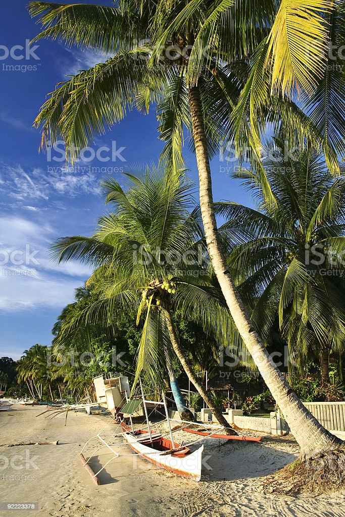port barton tropical beach bangka philippines royalty-free stock photo