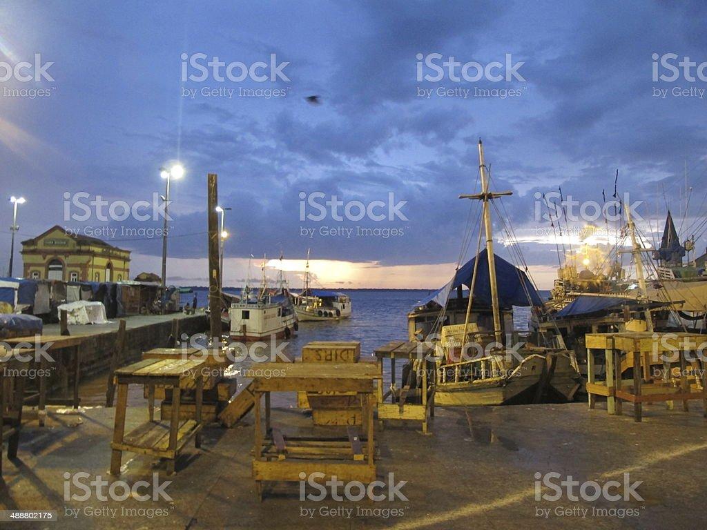 port belem stock photo