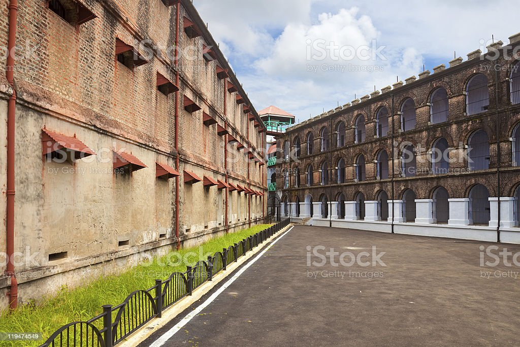 Port Blair Jail stock photo