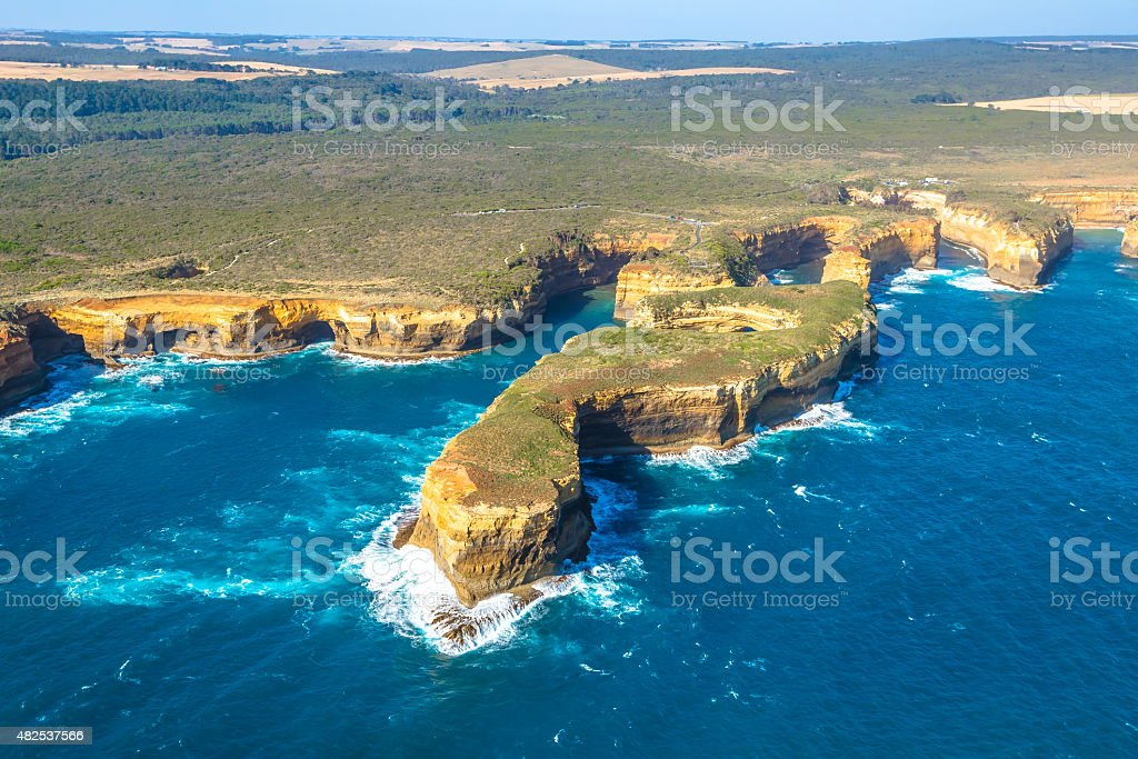 Port Campbell National Park stock photo