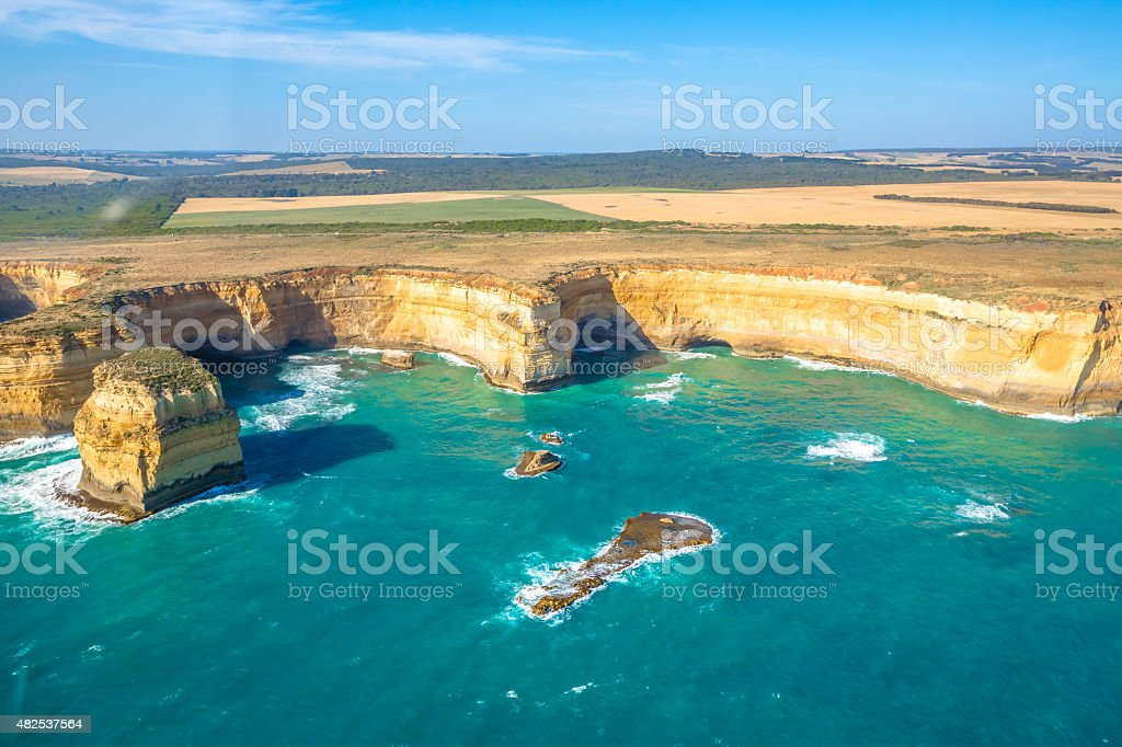 Port Campbell Victoria stock photo