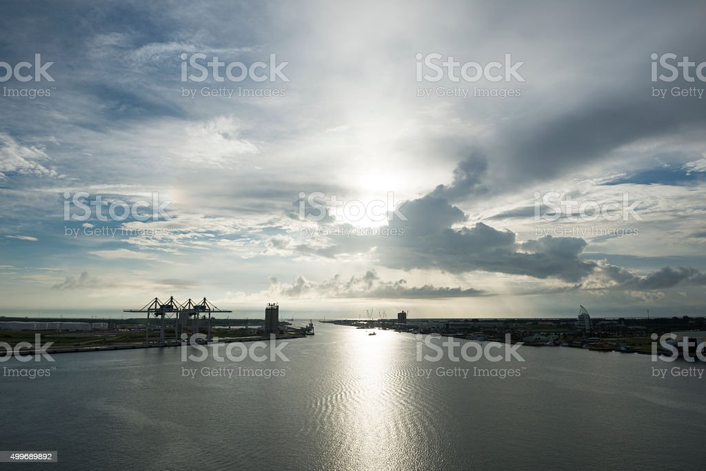 Port Canaveral, Brevard County, Florida stock photo