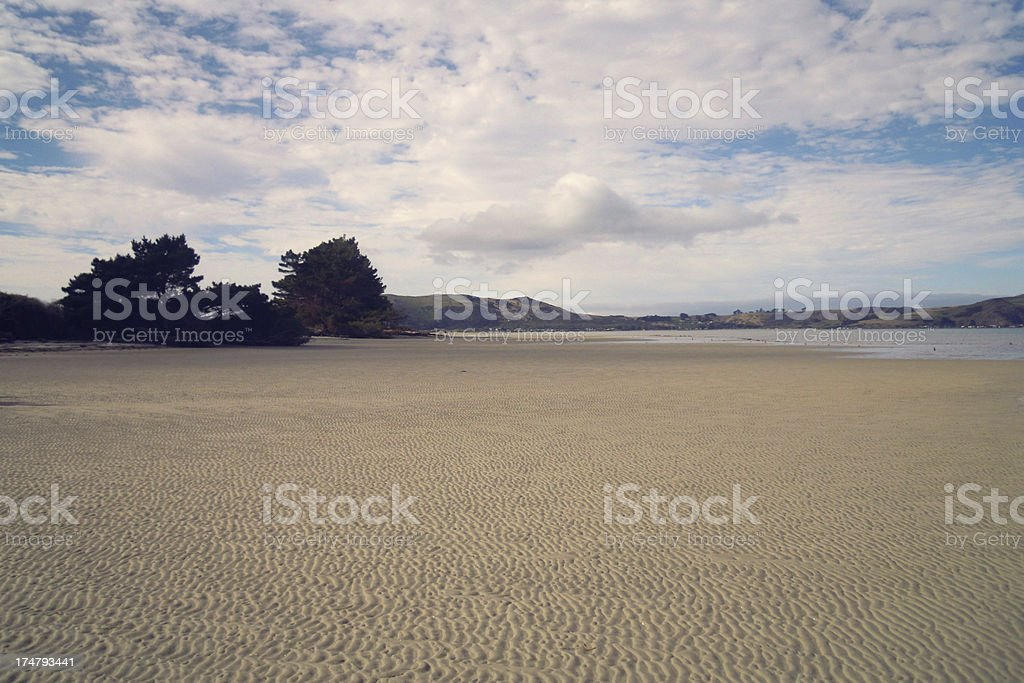 Port Chalmers, New Zealand royalty-free stock photo
