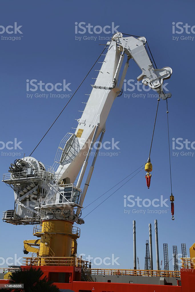Port Crane royalty-free stock photo