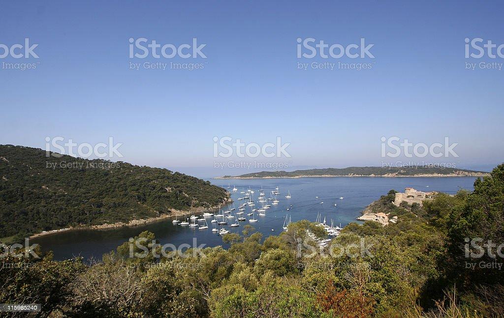 port cros royalty-free stock photo