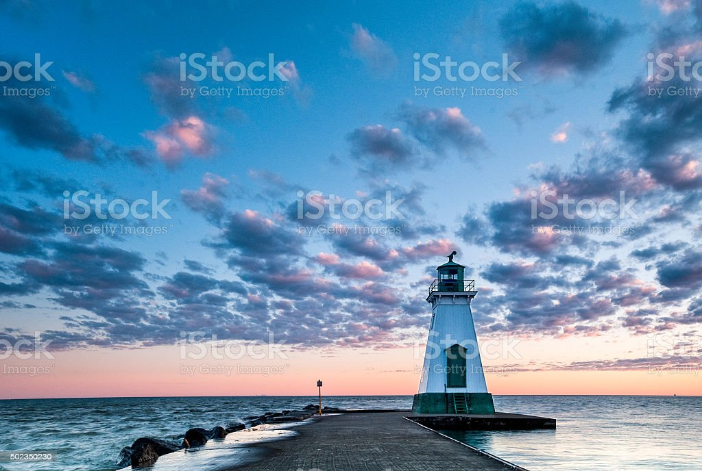 Port Dalhousie Lighthouse stock photo