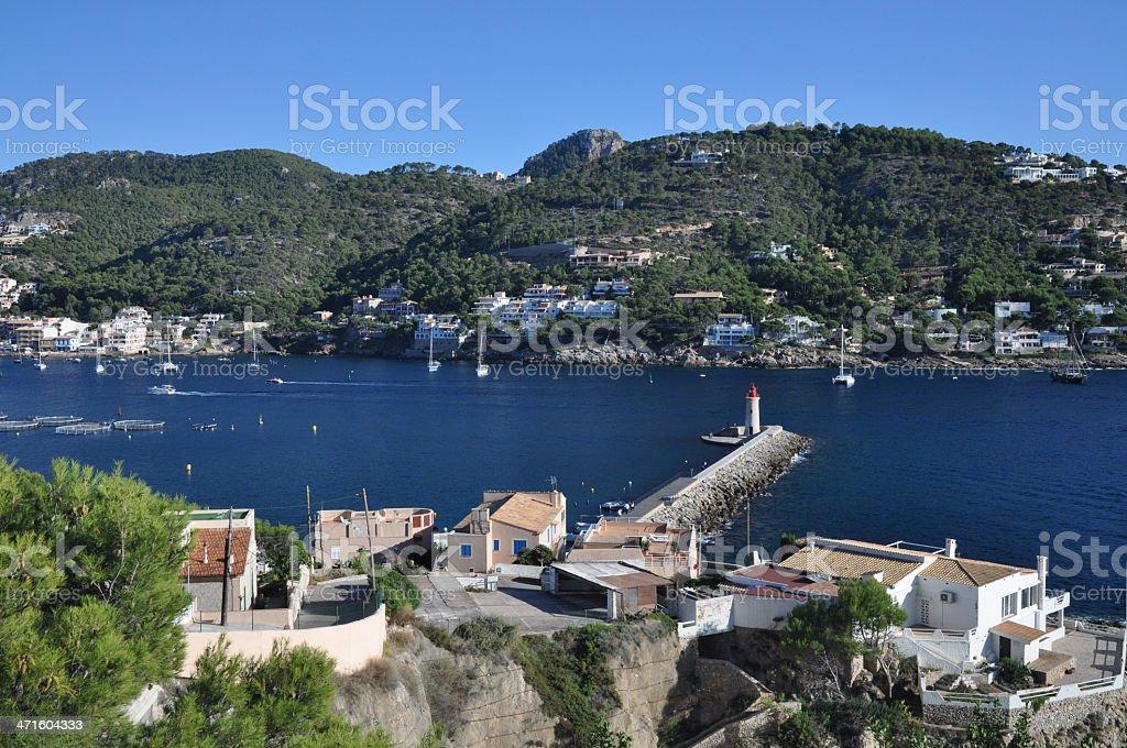 Port d'Andratx, Majorca, Spain royalty-free stock photo
