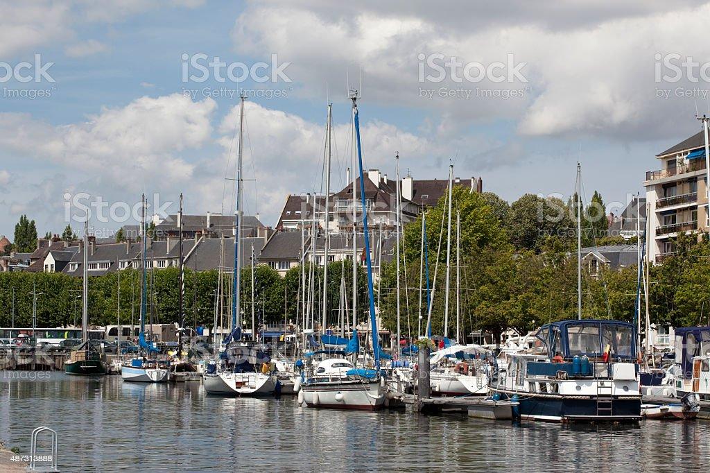 Port De Plaisance - Caen, Normandy stock photo
