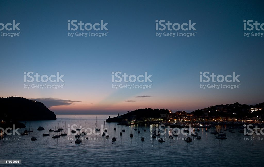 Port  de Sóller stock photo