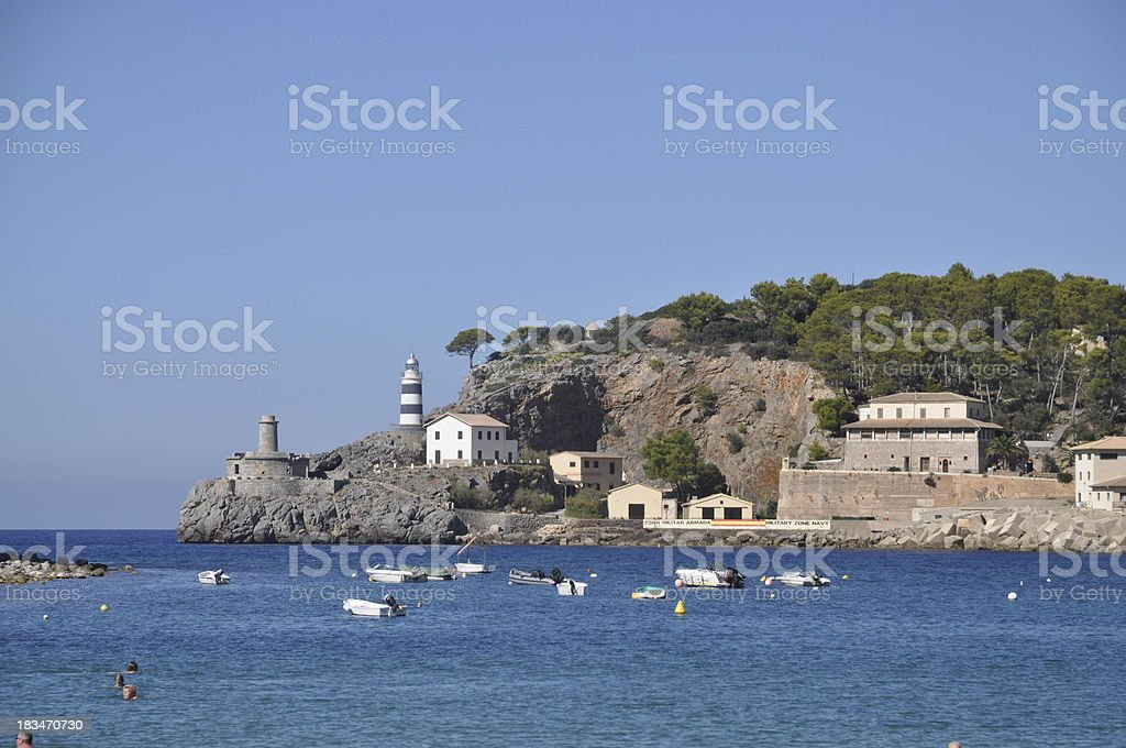 Port de Soller, Majorca stock photo