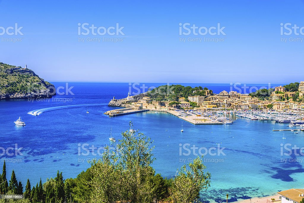 Port De Soller (Mallorca) stock photo