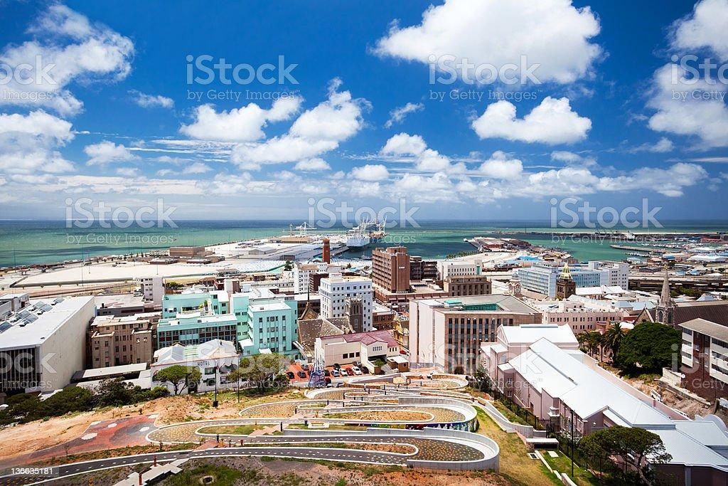 Port Elizabeth, South Africa royalty-free stock photo