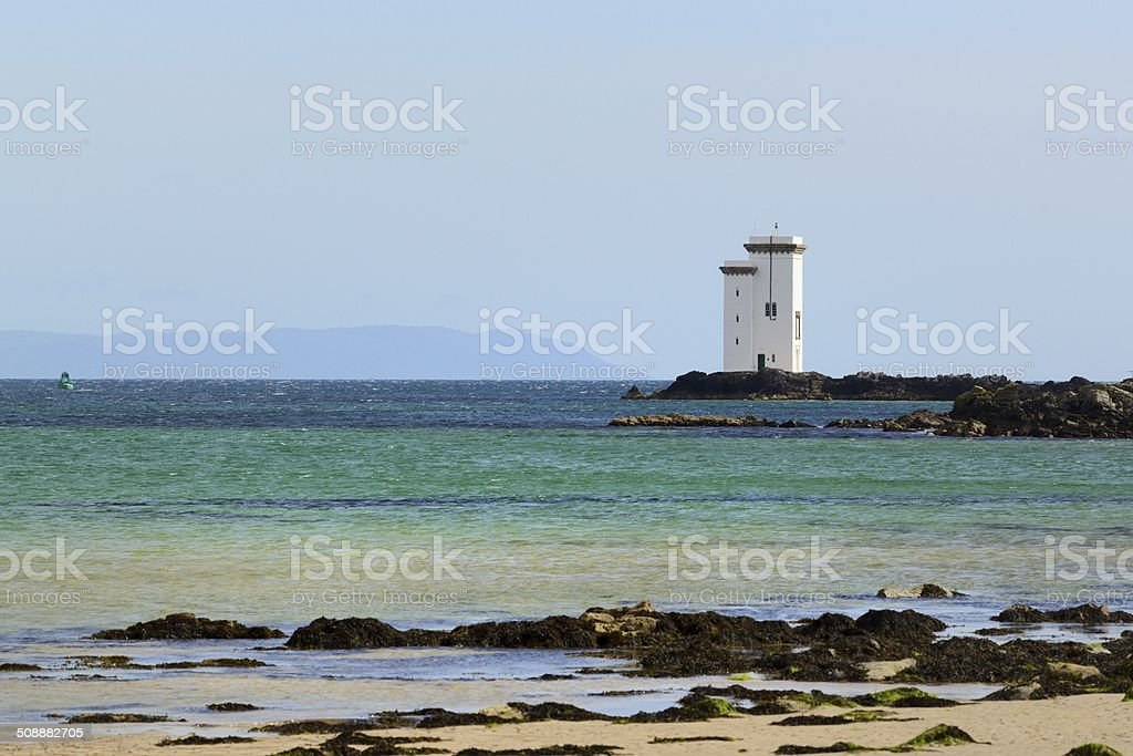 Port Ellen Lighthouse stock photo