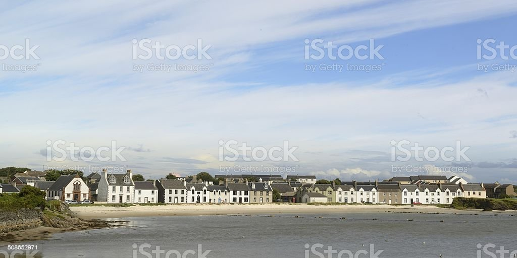 Port Ellen stock photo