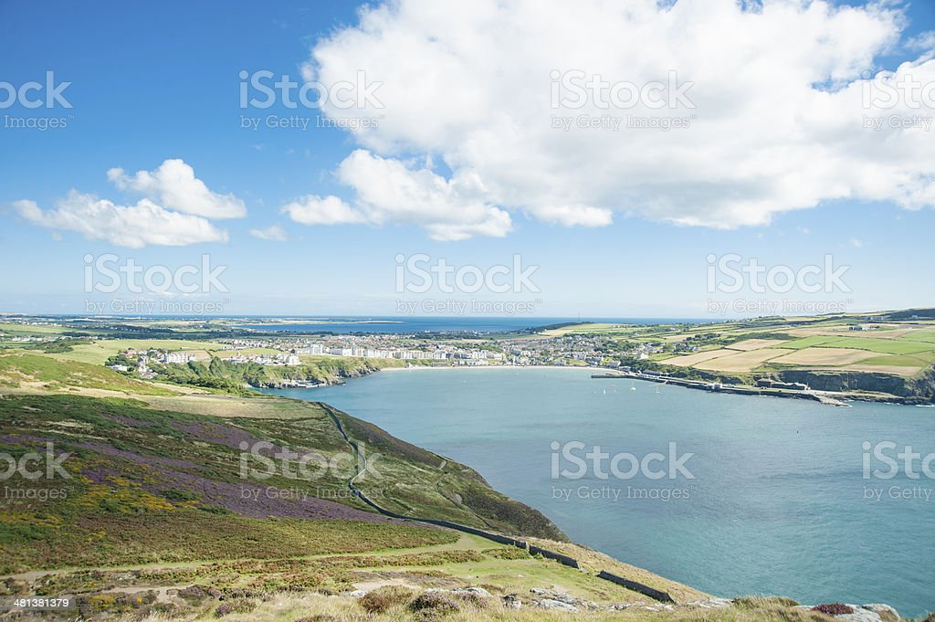 Port Erin, Isle of Man stock photo