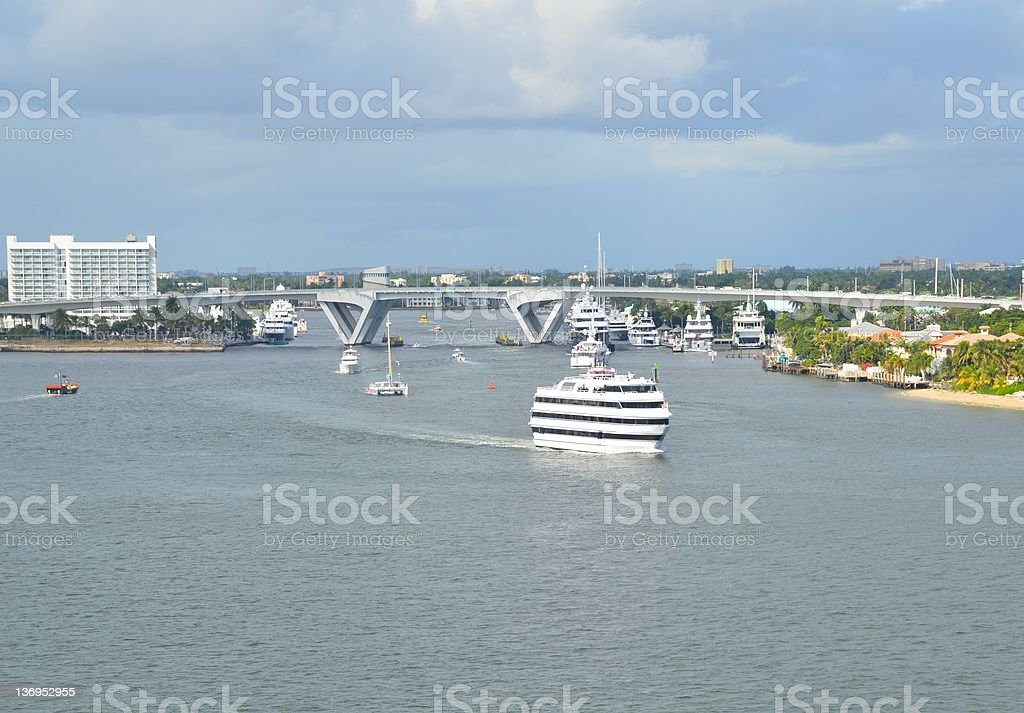 Port Everglades royalty-free stock photo