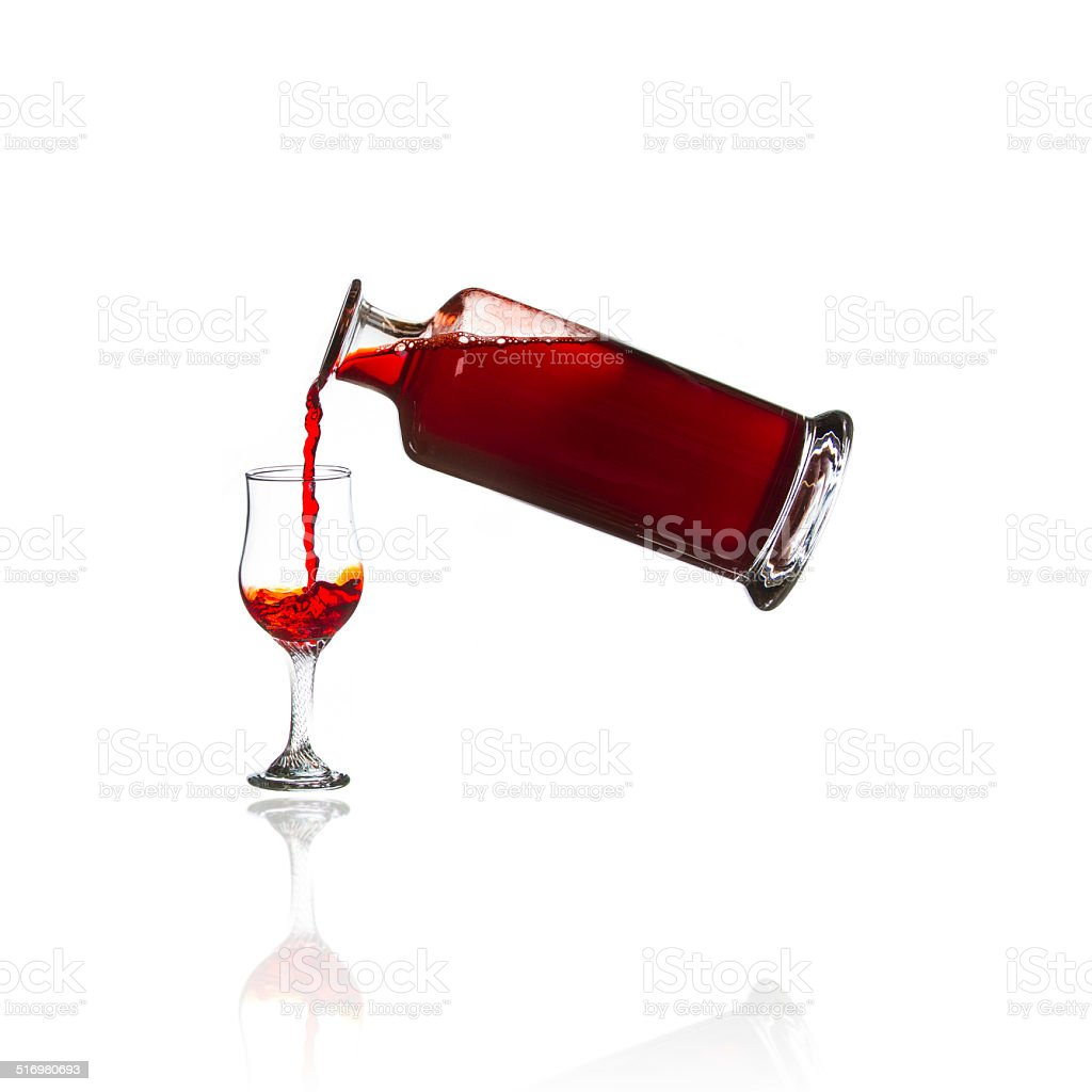 Port from the Decanter stock photo
