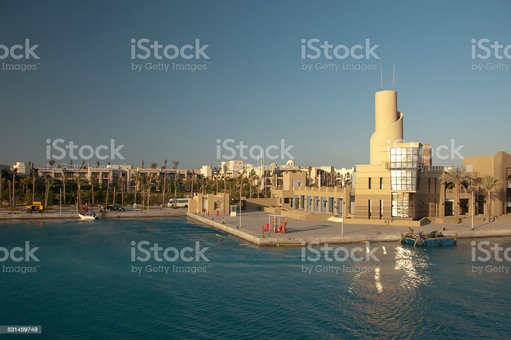 Port Ghalib Egypt stock photo