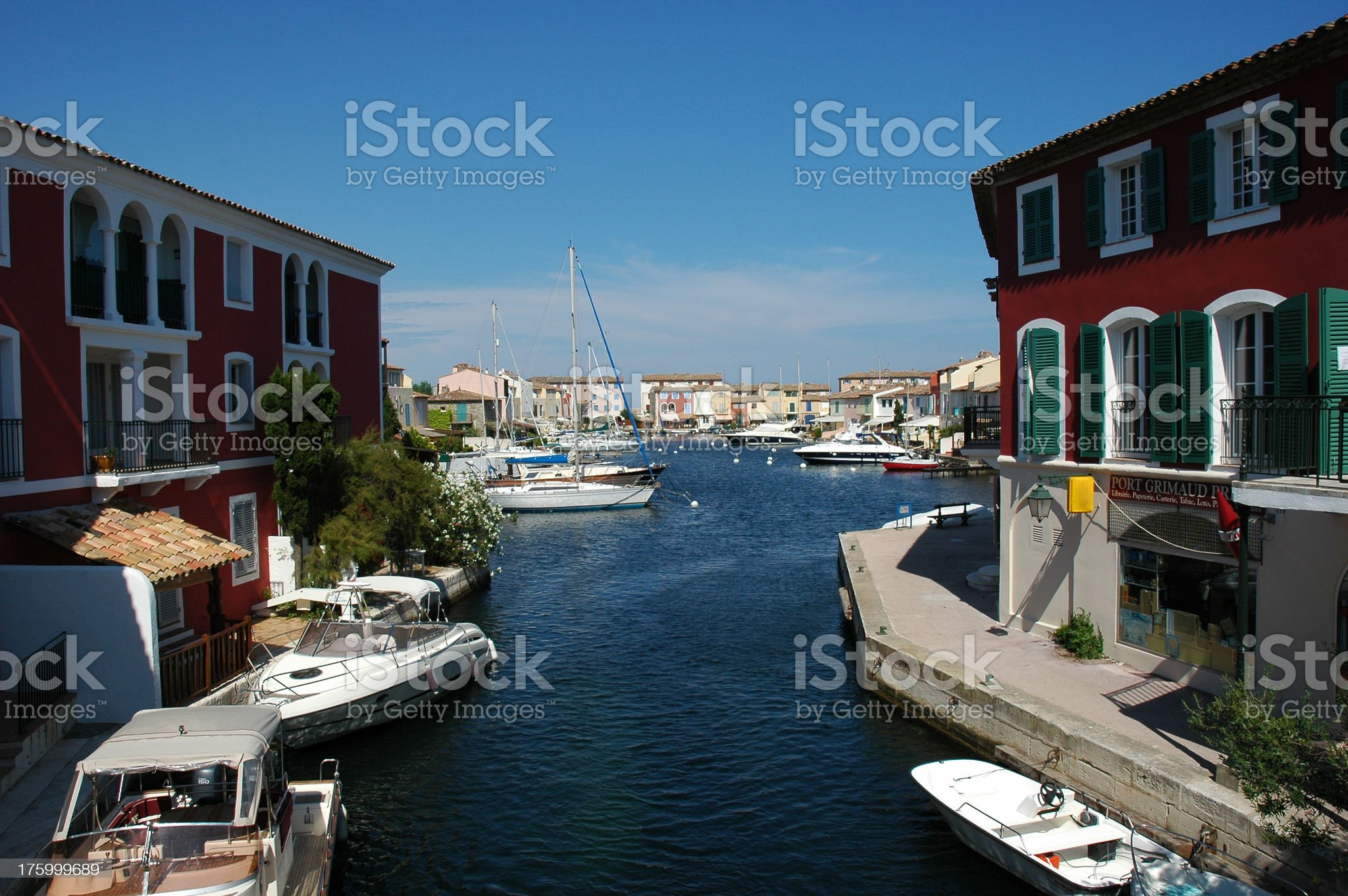 Port Grimaud, French Riviera royalty-free stock photo