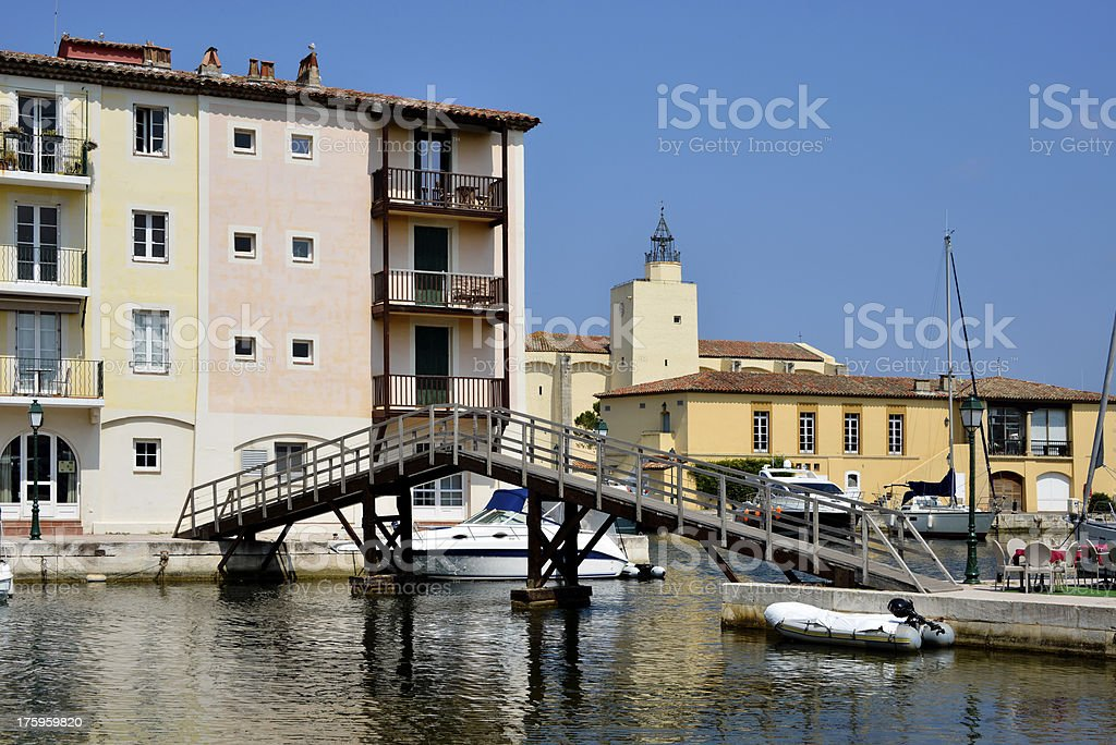 Port Grimaud in France royalty-free stock photo