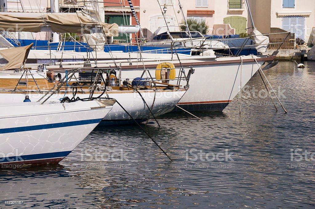 Port Grimaud Marina stock photo