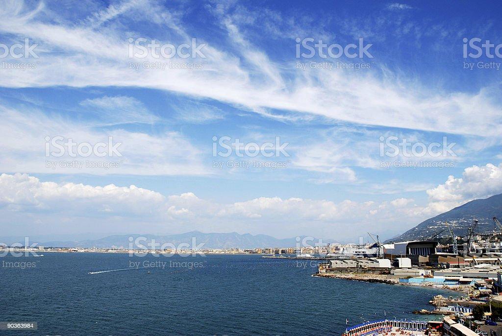 Port, harbor, shipyard royalty-free stock photo