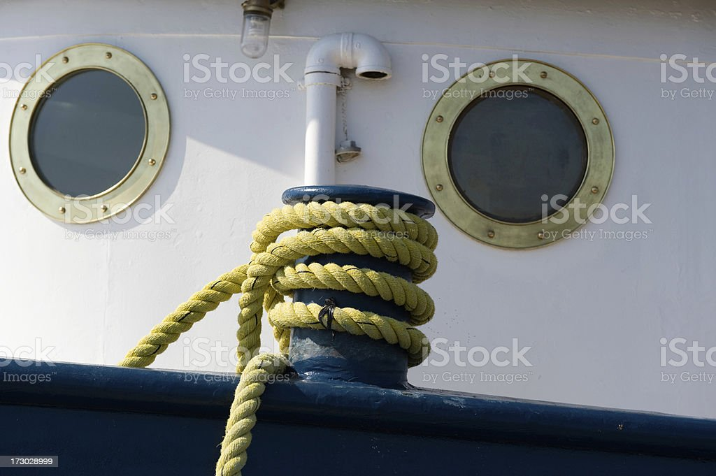Port Holes royalty-free stock photo
