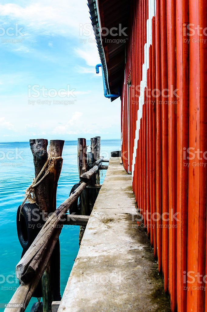 Port House stock photo