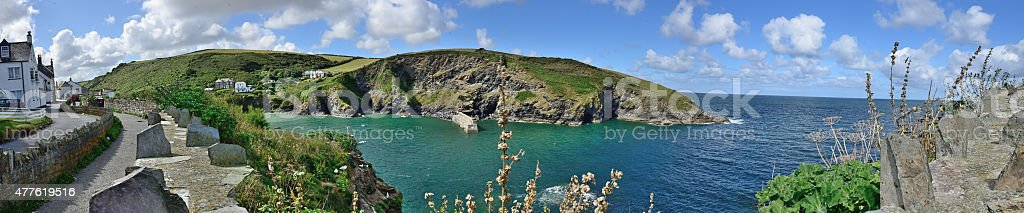 Port Isaac  (Cornwall - England) stock photo