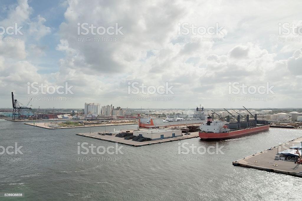 Port Lauderdale Docks stock photo