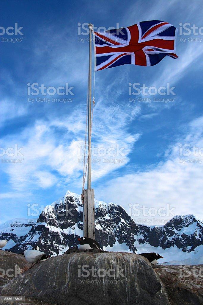 Port Lockroy, Antarctica stock photo