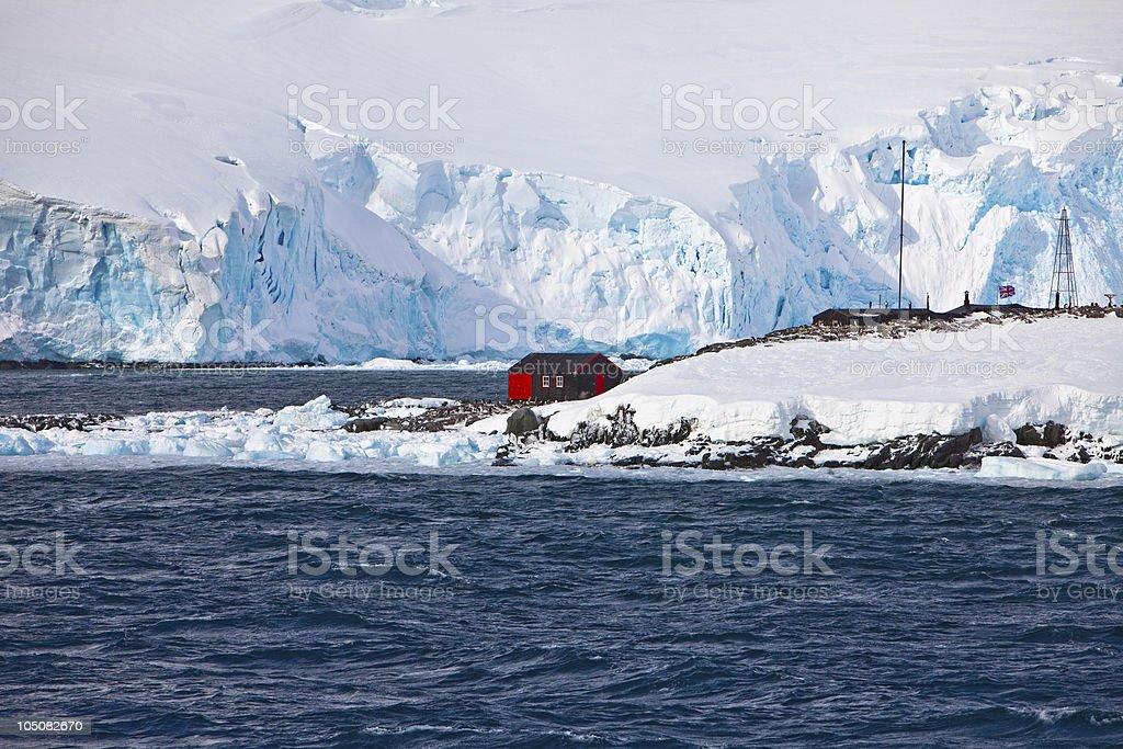 Port Lockroy, British Antarctic Base, Antarctica stock photo
