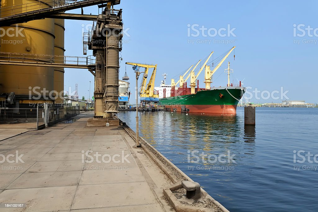 Port of Amsterdam royalty-free stock photo