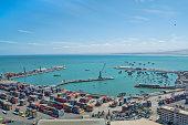 Port of Arica Chile