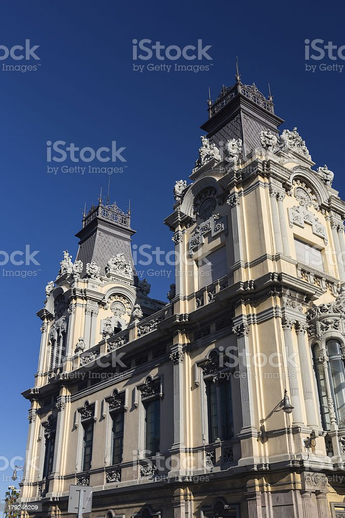 Port of Barcelona building royalty-free stock photo