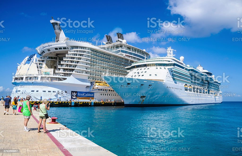 Port of Call - Cozumel stock photo