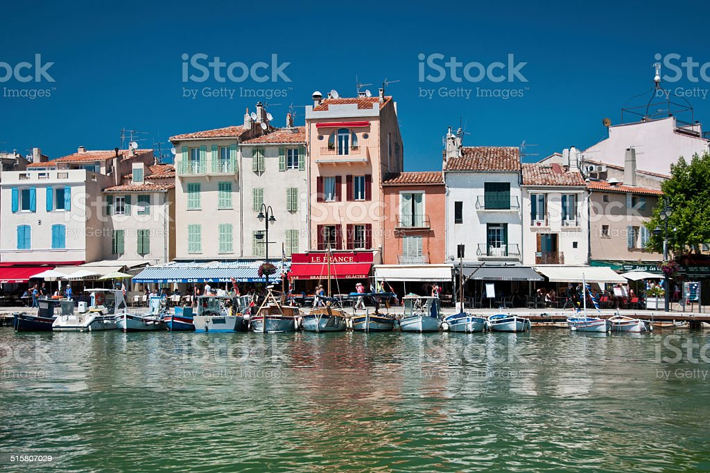 Port of Cassis stock photo