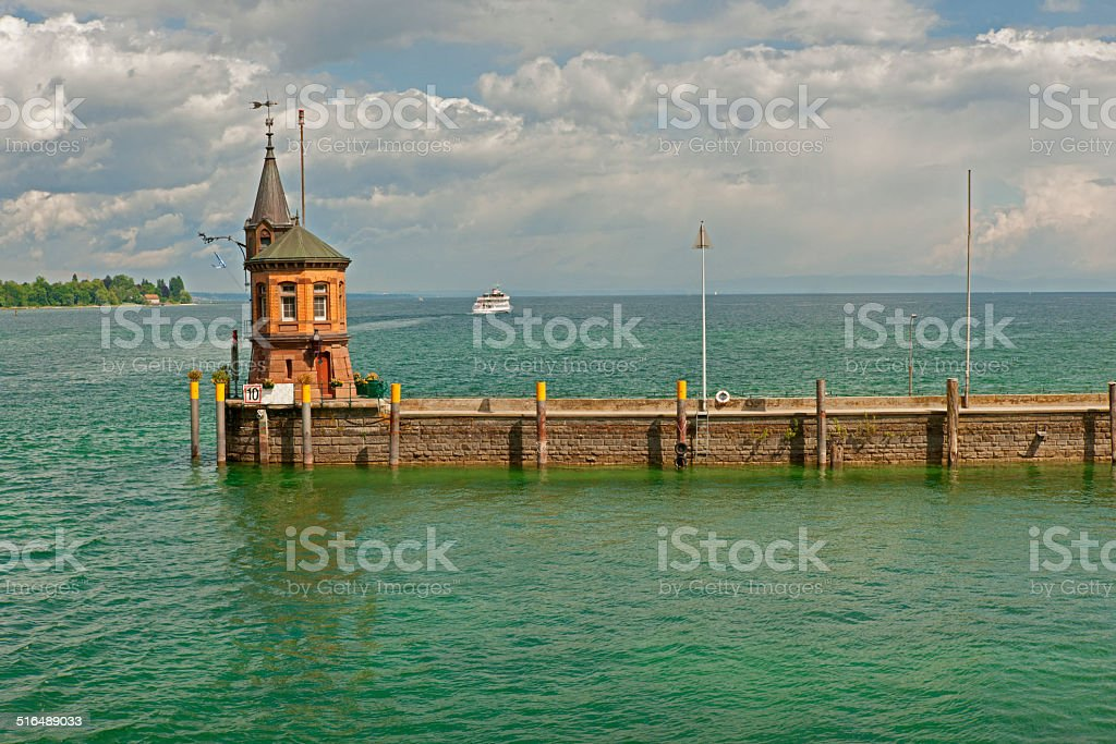 Port of Constance stock photo