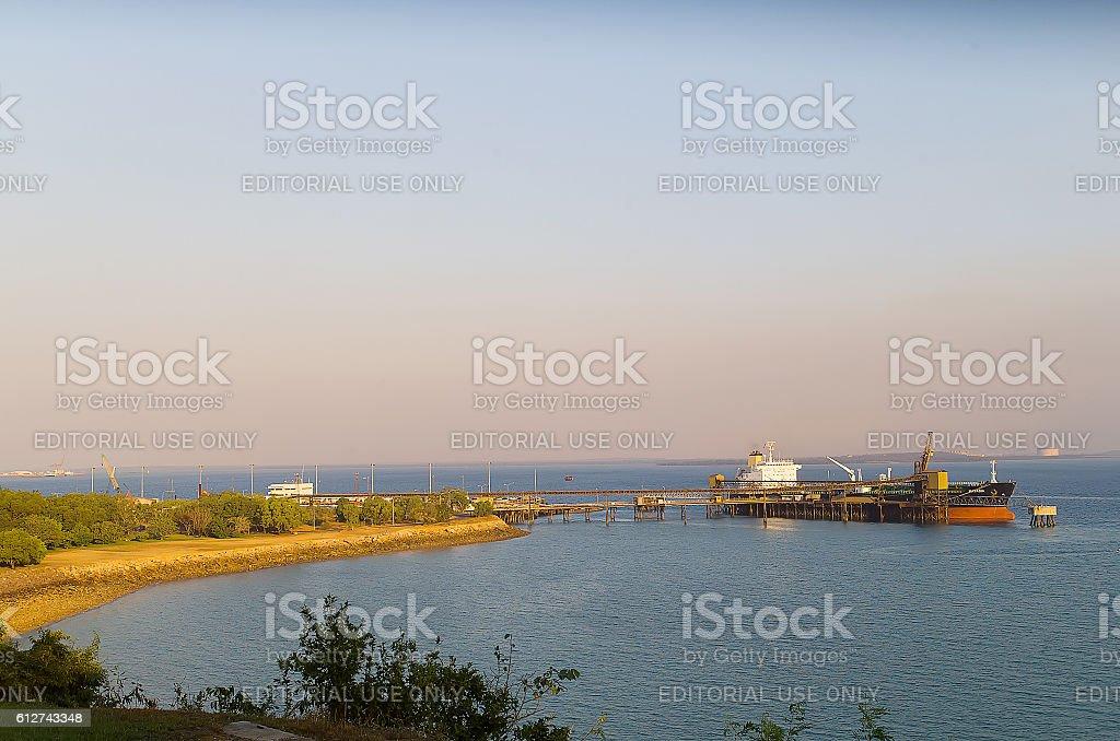 Port of Darwin stock photo