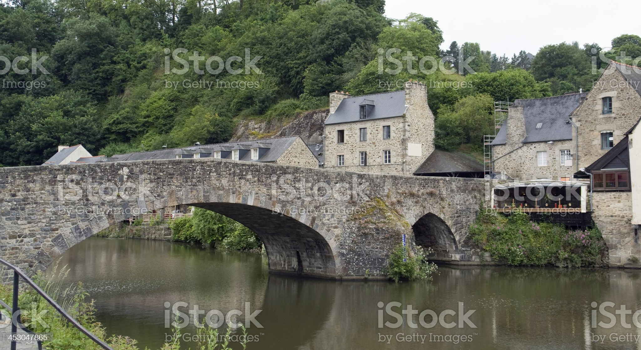 Port of Dinan royalty-free stock photo