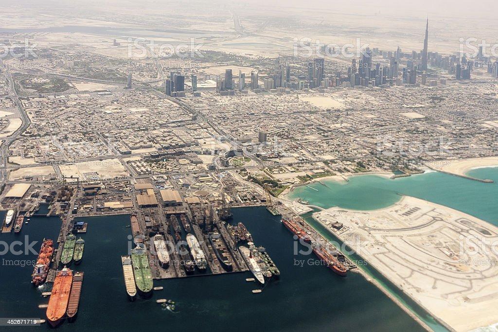 Port Of Dubai stock photo