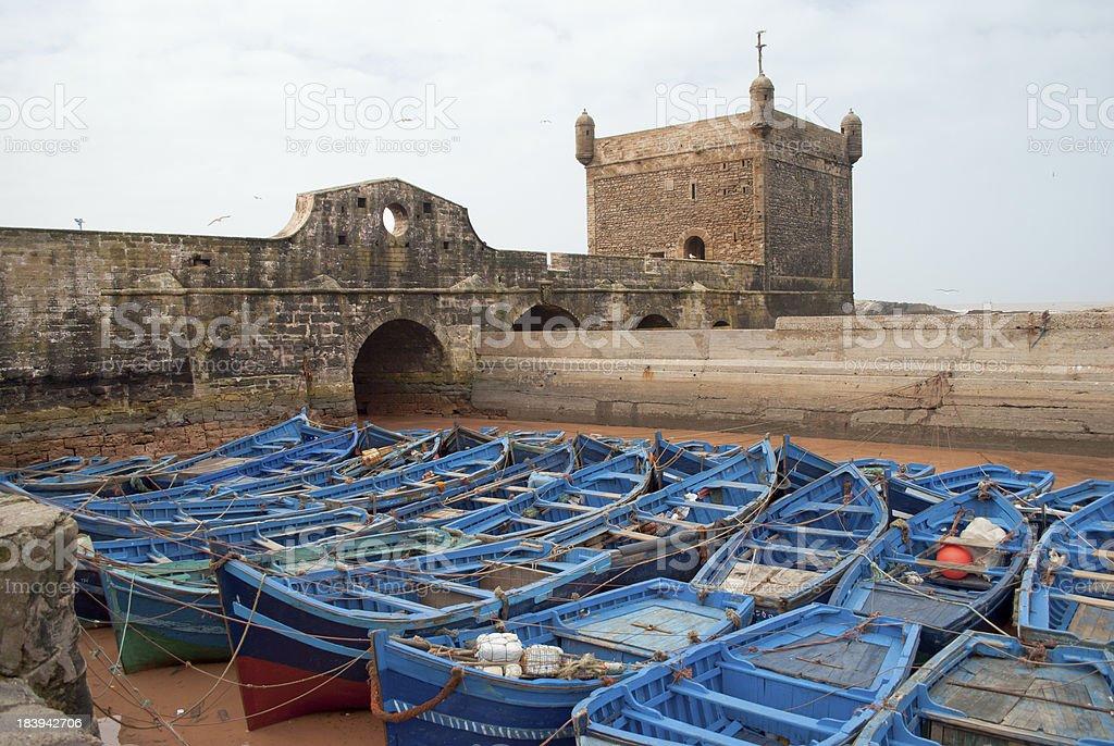 Port of Essaouira, Morocco stock photo